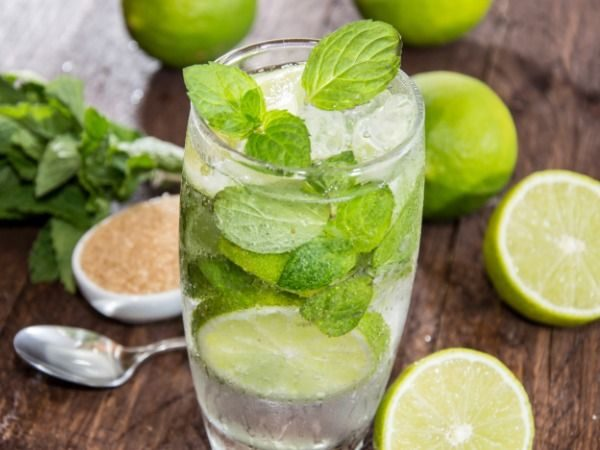 mojito drink norsk oppskrift